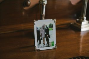 Wedding Tip to put photos in the house/hotel