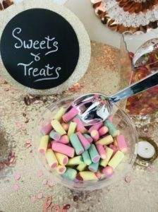 Sweets Table Sign