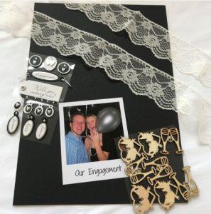 How To Make An Engagement Card Keepsake Book!