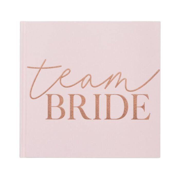 Team Bride Guest Book