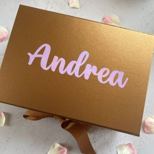 Maid of Honour Personalised Box