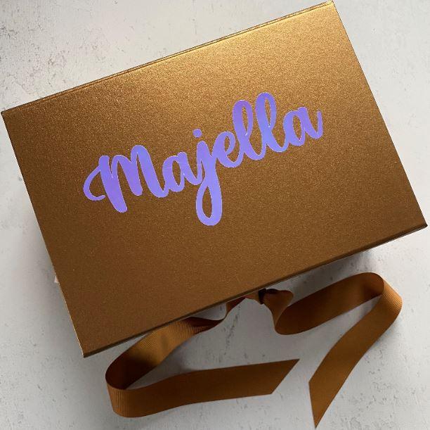 Personalised Bridesmaid Proposal Box