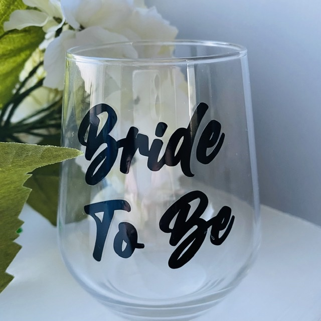 Bride To Be Glass