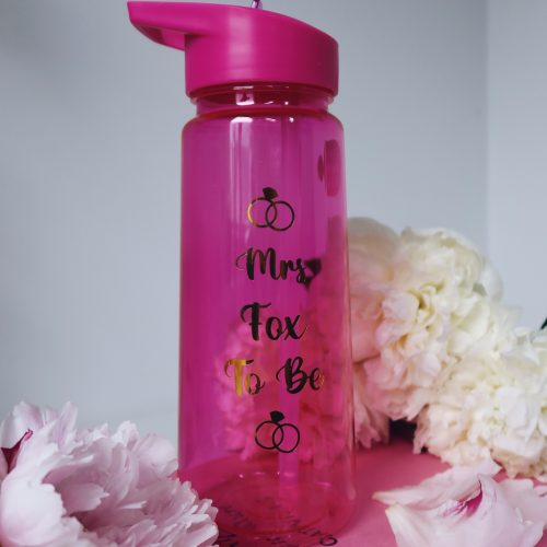 Personalised Bride to Be Water Bottle