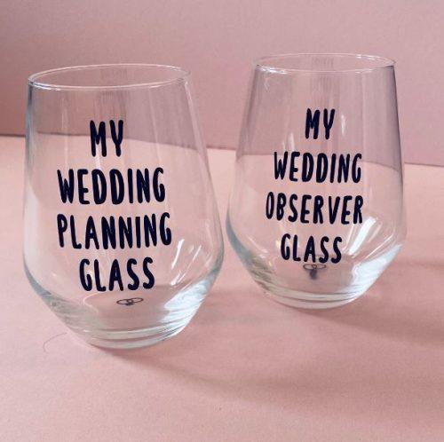 Wedding Planning Glasses
