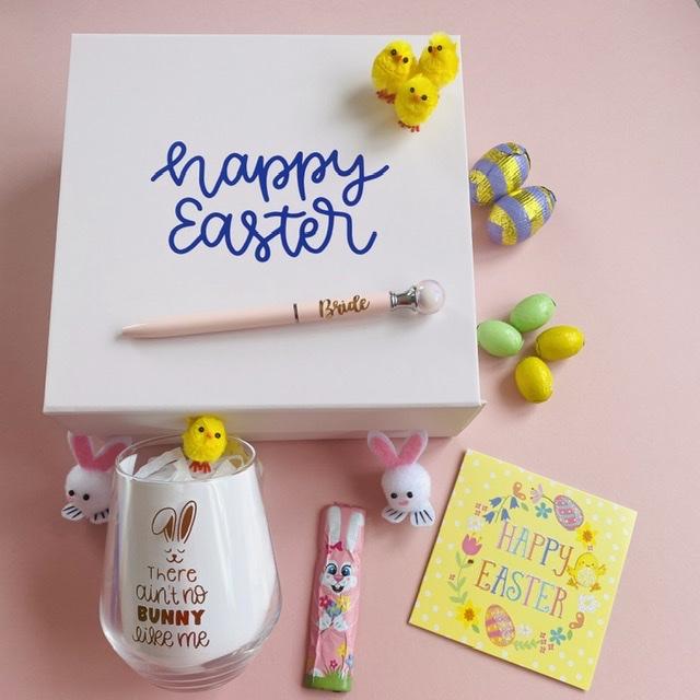Easter Themed Bridal Gift Box