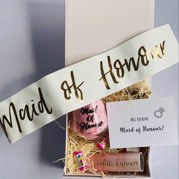 Maid of Honour Proposal Box
