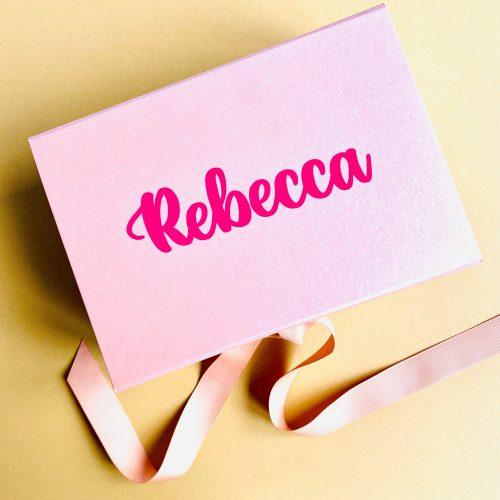 Personalised DIY Gift Box